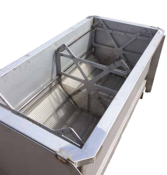 Chemical Stripping Stainless Steel Tank