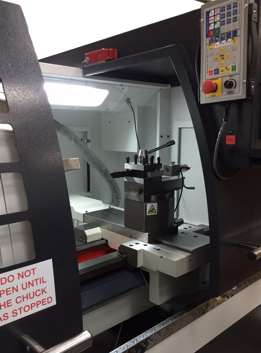 LENCO M210 L -alloy wheel lathe