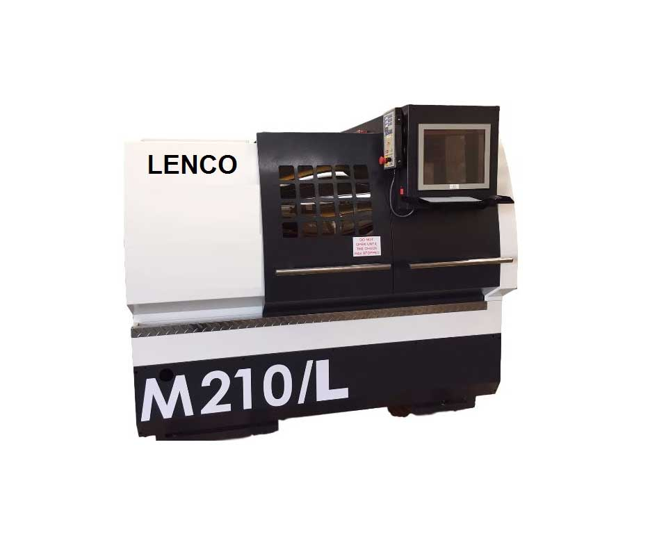 LENCO M210 -alloy wheel lathe
