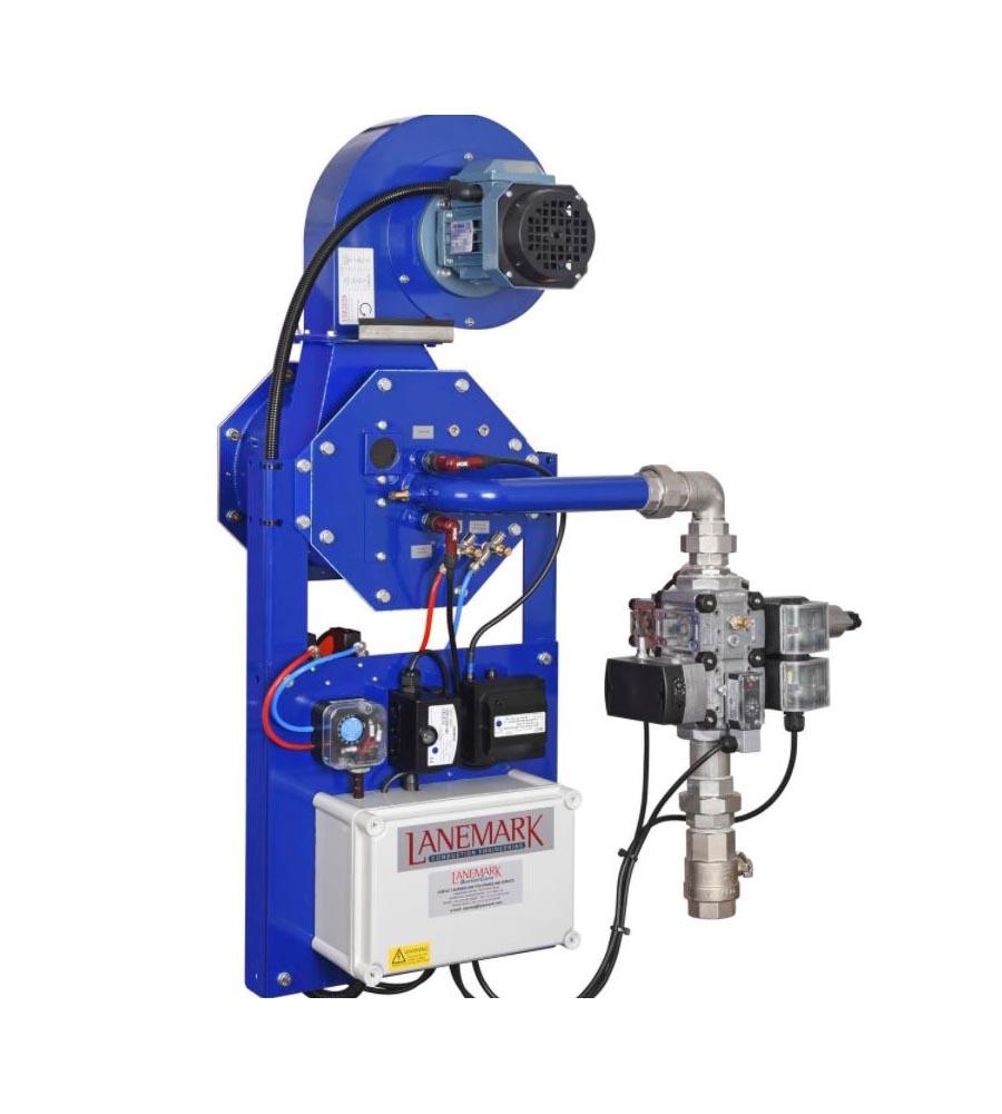 Lanemark burners - powder coating equipment