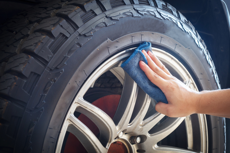 Alloy wheel maintenance and care