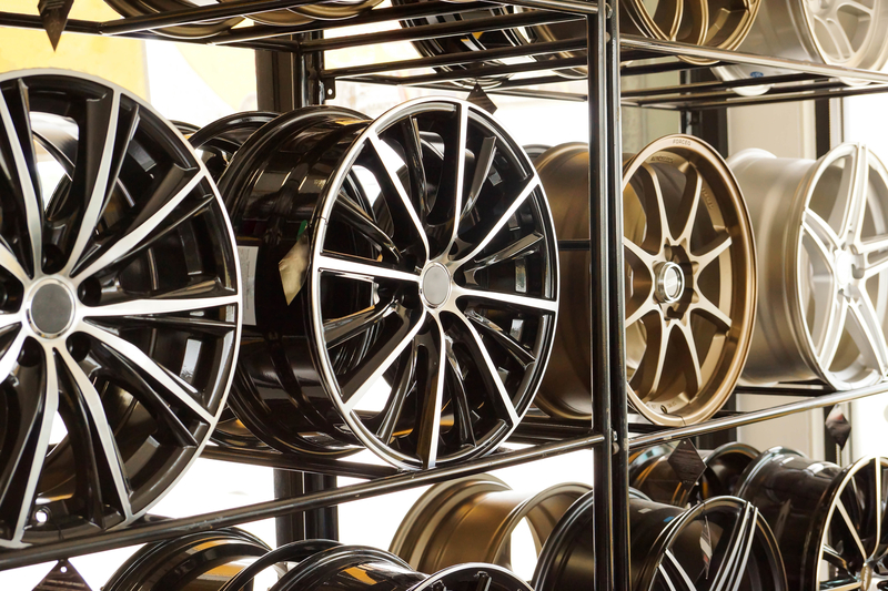 Shinny Alloy Wheels